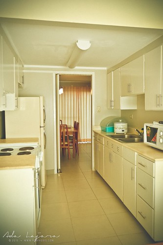 The overall kitchen area at Subic Homes