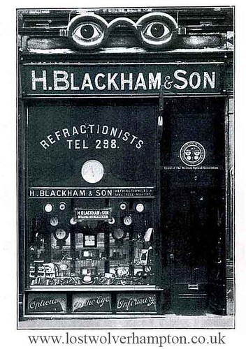 Blackham's Shop frontage