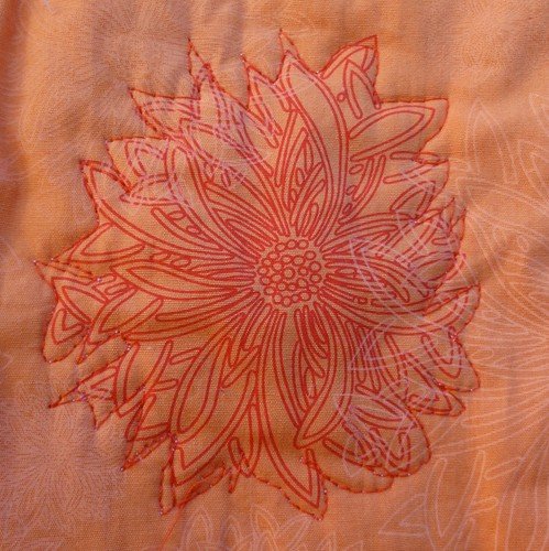 flower quilted