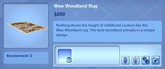 Wee Woodland Rug
