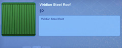 Viridian Steel Roof
