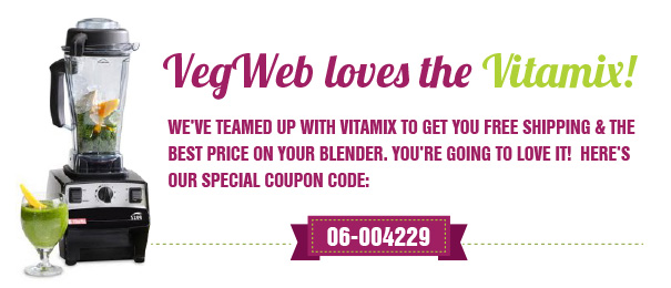 d2d4596281f09 BEST 2019 VITAMIX COUPON CODE  06-094. VegWeb gives you the BEST price and FREE  shipping in MAY 2019 on the Vitamix blender of your choice with our ...