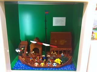Viking scene