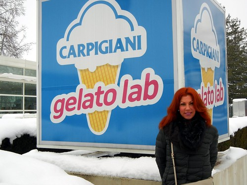 Sweet Ginger at the Carpigiani Gelato Lab