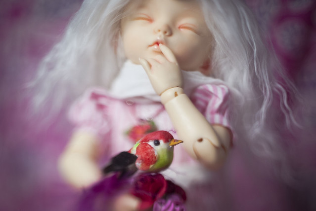 A Doll a day - Sunday - Flowers
