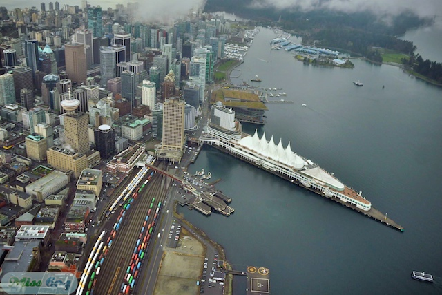 Aerial Photos from News1130 Air Patrol