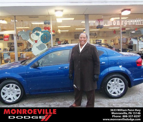 Congratulations to Cheryl Myers on the 2013 Dodge Avenger by Monroeville Dodge
