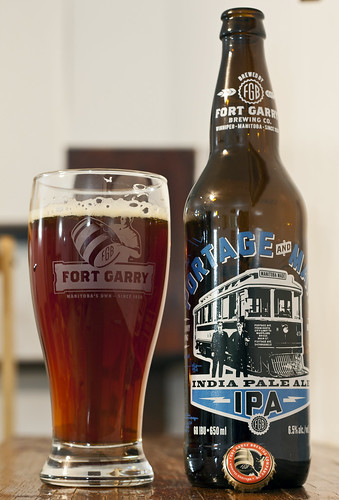 Review: Fort Garry Portage & Main India Pale Ale by Cody La Bière