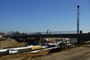 A look at the new G Street Bridge from the East bound side.