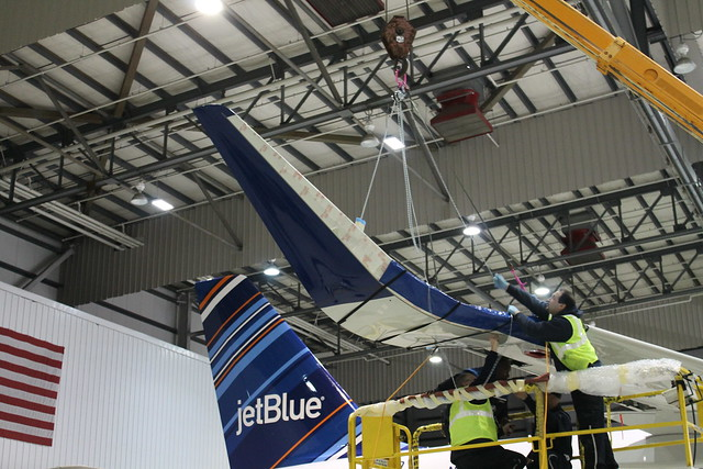 JetBlue installs A320 Sharklets