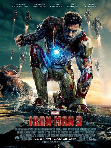Iron Man 3 - Affiche France MARK XLVII