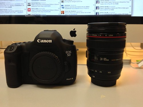 Upgraded to Canon EOS 5D Mk III
