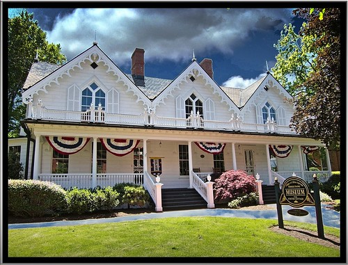 house ny home water museum architecture spring gothic springs 1001nights antebellum clifton nationalregisterofhistoricplaces nrhp ontariocounty fostercottage 1001nightsmagiccity onasill cliftonspringsny