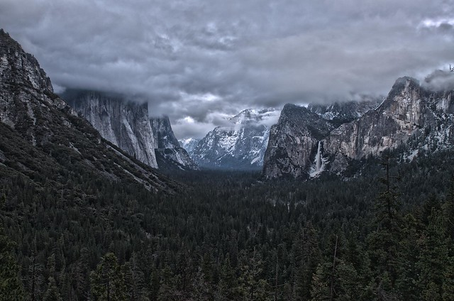 Tunnel View - Winter Clouds_HDR2