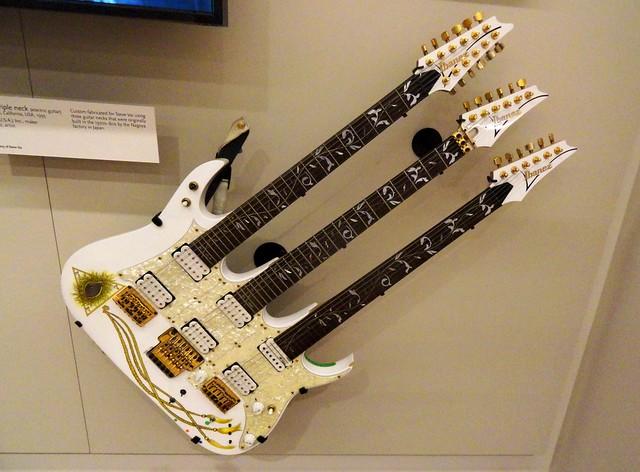 Steve Vai S Ibanez Triple Neck Electric Guitar 1993