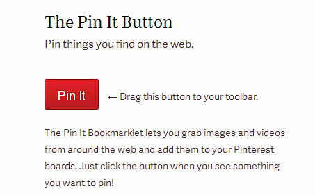 pinterest pin it button, tutorial pinterest