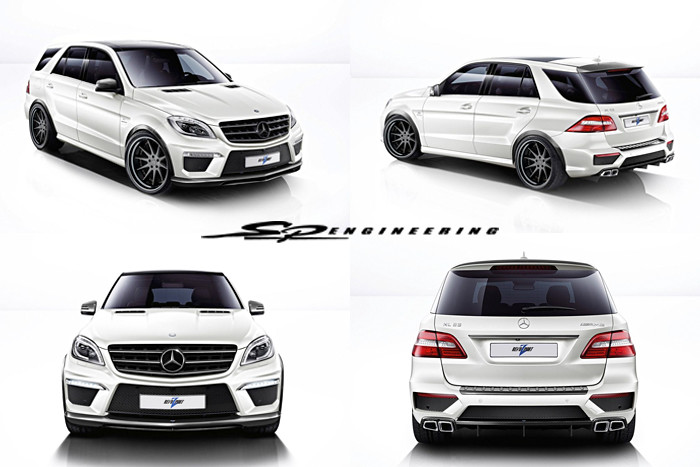 "Revozport ML63 ""Rezonance"" package boasting 600HP"