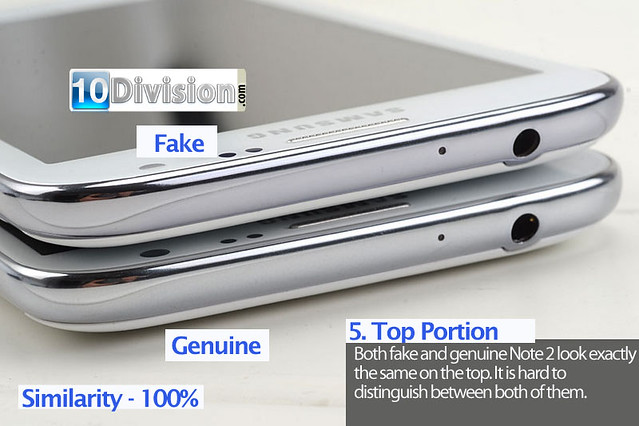 5 Samsung Galaxy Note 2 (GT-N7100) - Clone vs Original Ultimate Comparison