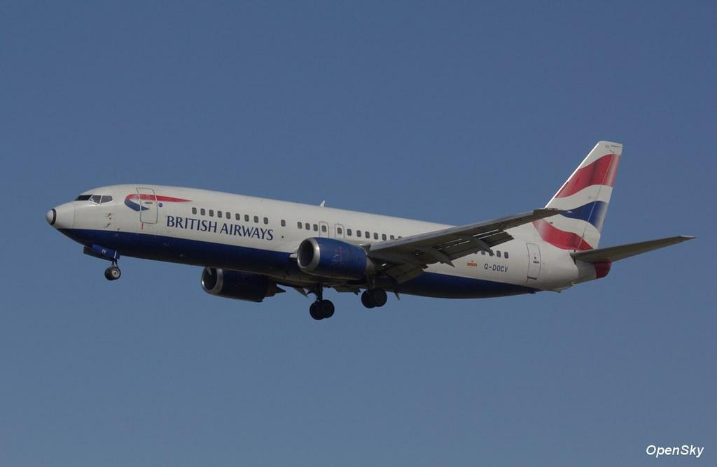 British Airways Boeing 737-436 G-DOCV (cn 25855)