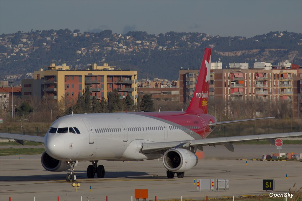 Nordwind Airlines Airbus A321-232 VP-BGH (cn 3034)
