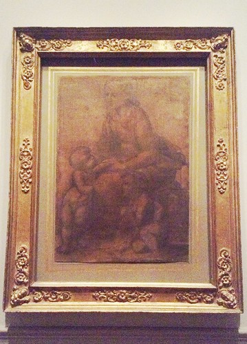 Raphael's Madonna and Child with Saint John the Baptist