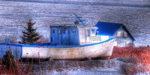 ice water landscape bay march boat novascotia fishingboat hdr seaice minitrail capegeorge sunrisetrail ballantynescove antigonishcounty minicabottrail photoannum