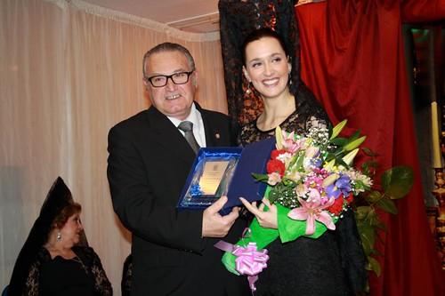 Elisa Péez de Sils on JoséGonzález Presidente pregon 5