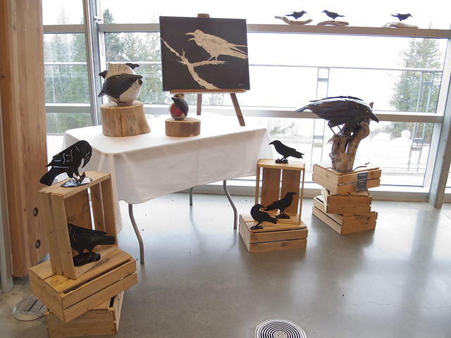 Corvid Art at the Field Station 3