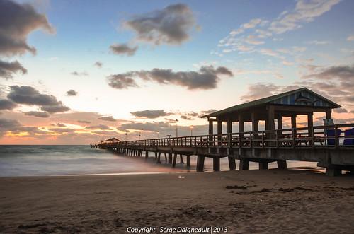 longexposure usa seascape sunrise pier florida tripod lauderdalebythesea nikkor18200mmf3556 nikond5100