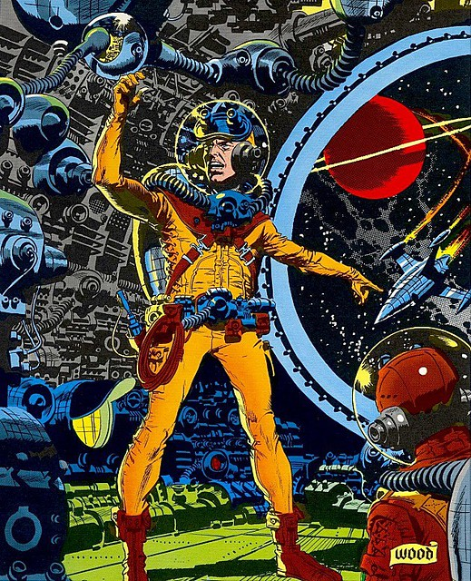 Astronaut cover by Wally Wood