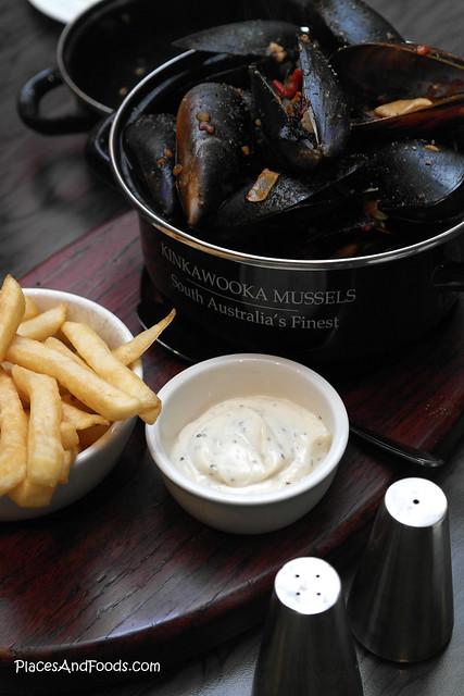 port lincoln del giorno mussels