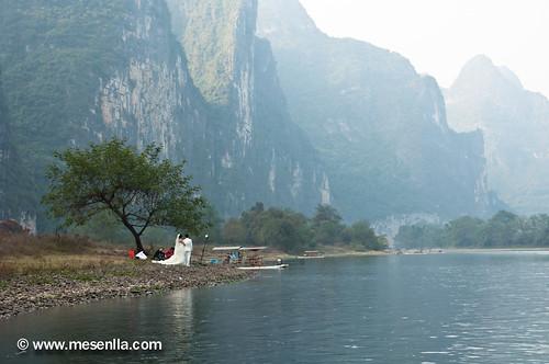 Boda china en el rio LI