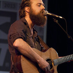 Iron & Wine at the Public Radio Rocks Day Stage, SXSW, 3-15-2013. Photo by Gus Philippas