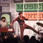 Charles Bradley at the WFUV Public Radio Rocks Day Stage, SXSW. 3-15-2013. Photo by Gus Philippas