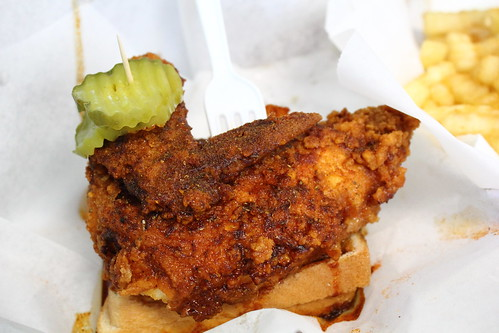 Chicken at Prince's Hot Chicken Shack