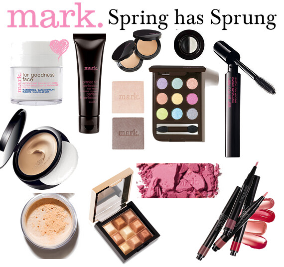 Living After Midnite: mark. Makeup Monday: Spring has Sprung