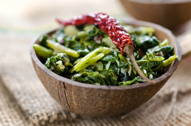 Rapini with Coconut and Spices (2)