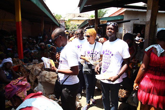 Juliet Ibrahim Foundation Divas Car wash (5)
