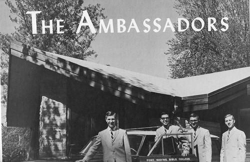 1965 Ambassadors Quartet summer poster