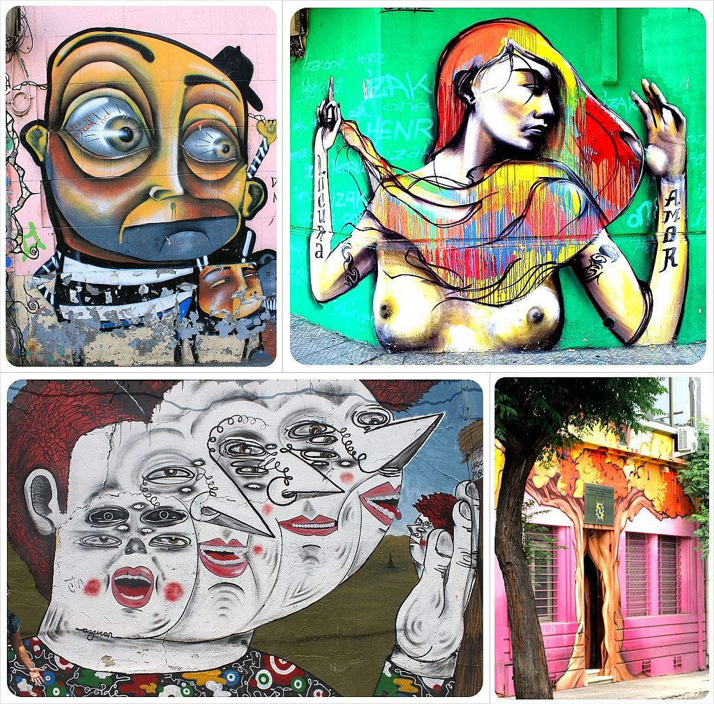 Santiago de Chile street art pictures