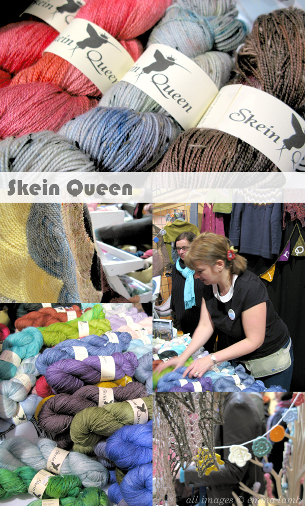 Getting to meet the Skein Queen herself at the first Edinburgh Yarn Festival! | Emma Lamb
