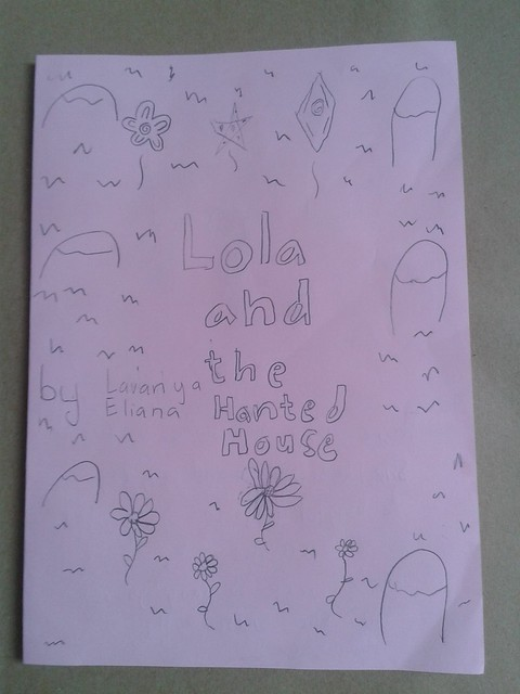 """covernya """"Lola and the haunted house"""""""