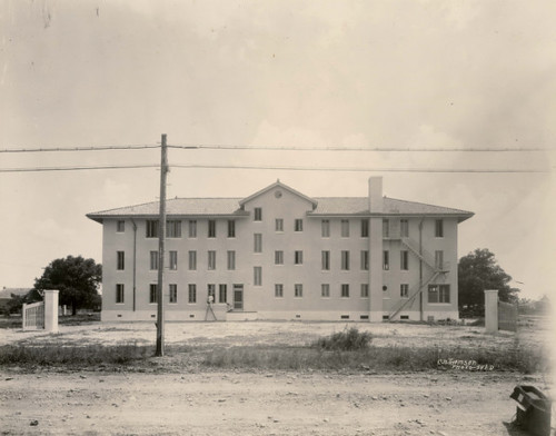 Exterior of Houston Negro Hospital
