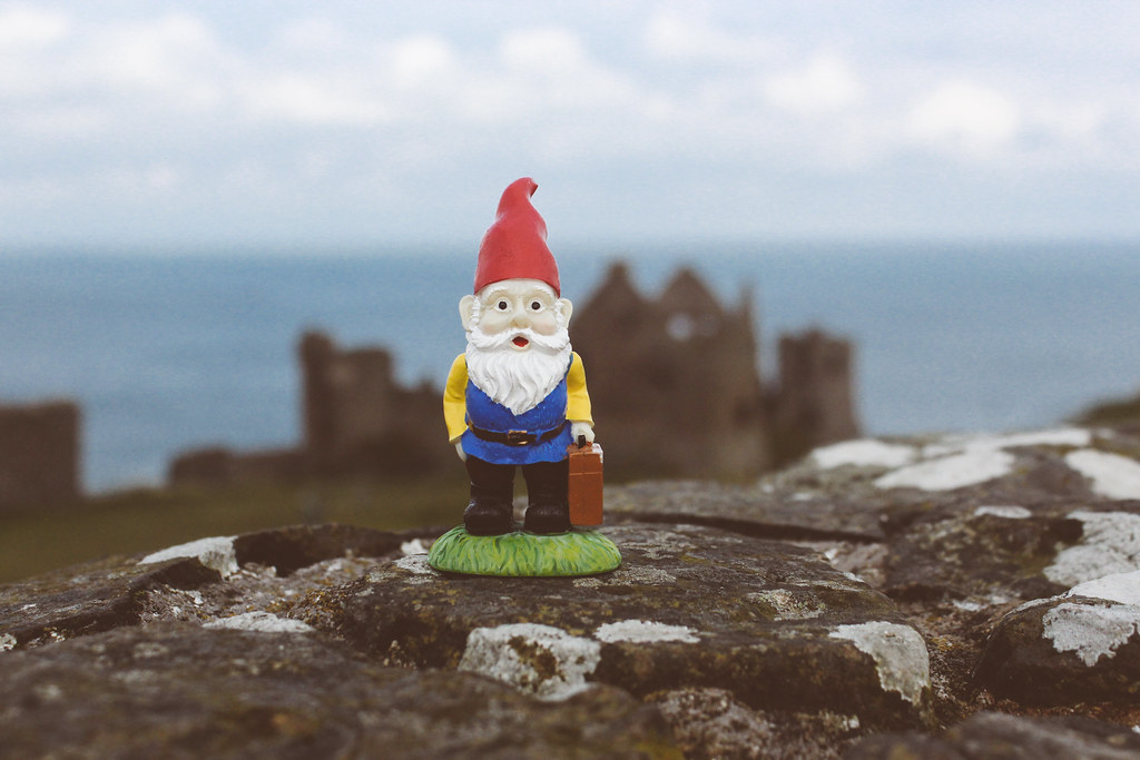 Cedric at Dunluce Castle