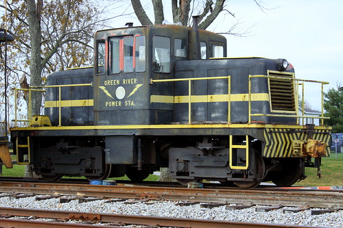 Green River Power Station Locomotive