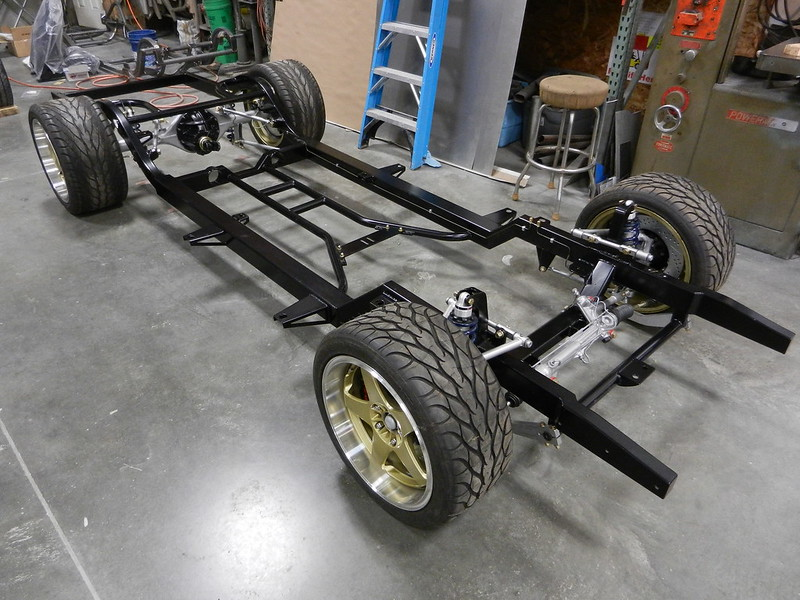 1955 1956 1957 Chevy Tri 5 Chassis Suspension System Frame Schwartz Performance