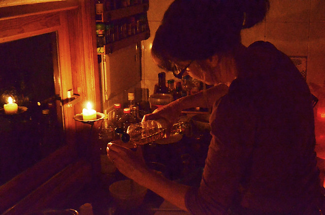 Cooking by Candlelight, Earth Hour