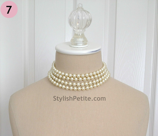 "How to wear a 60"" Pearl Necklace 21 ways3"