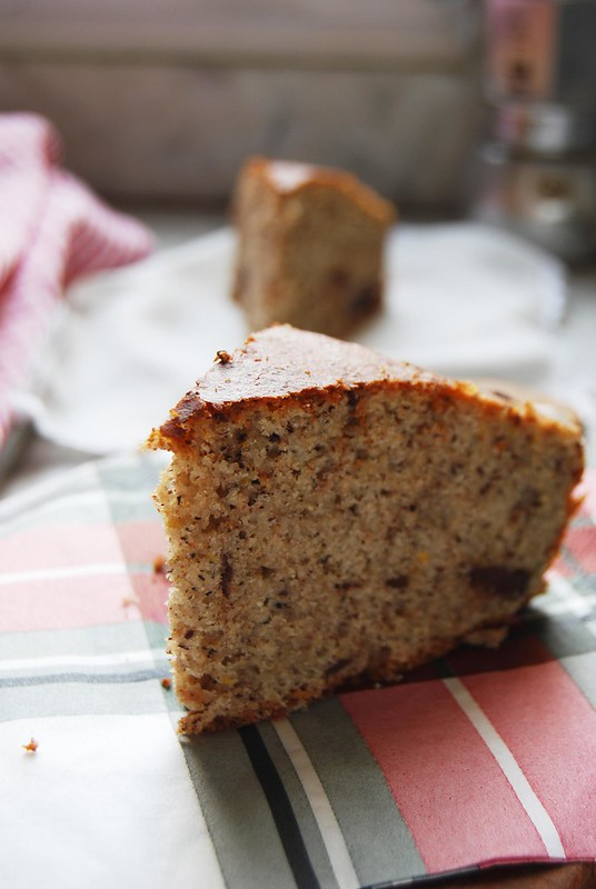 Torta di grano saraceno al profumo d'arancia