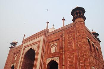 Taj Mahal - East Gate